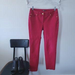 j. mclaughlin red skinny jeans
